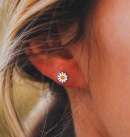 Puravida Pura Vida - Daisy Stud Earrings