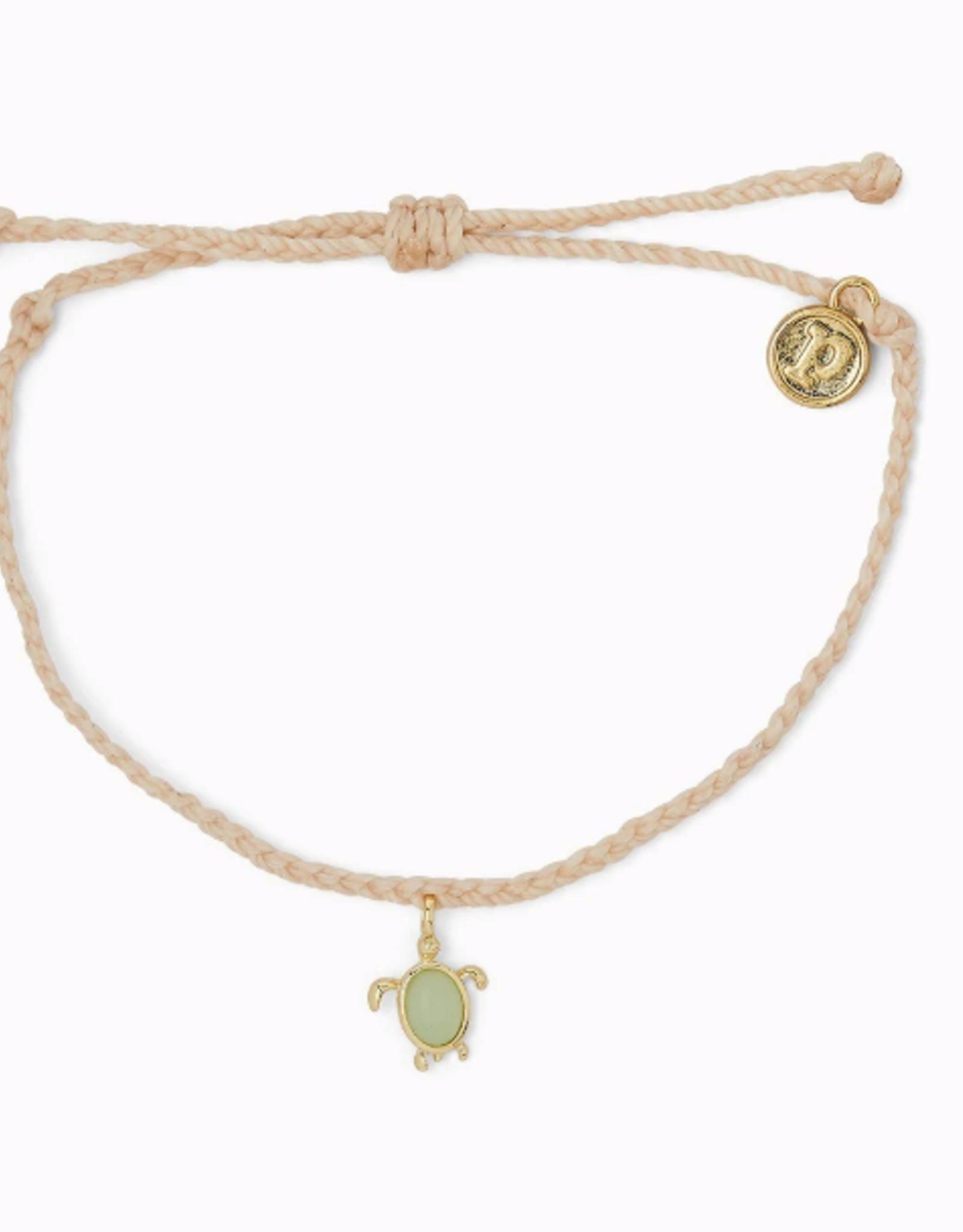 Puravida Pura Vida - Charm Bracelet Sea Turtle - Vanilla