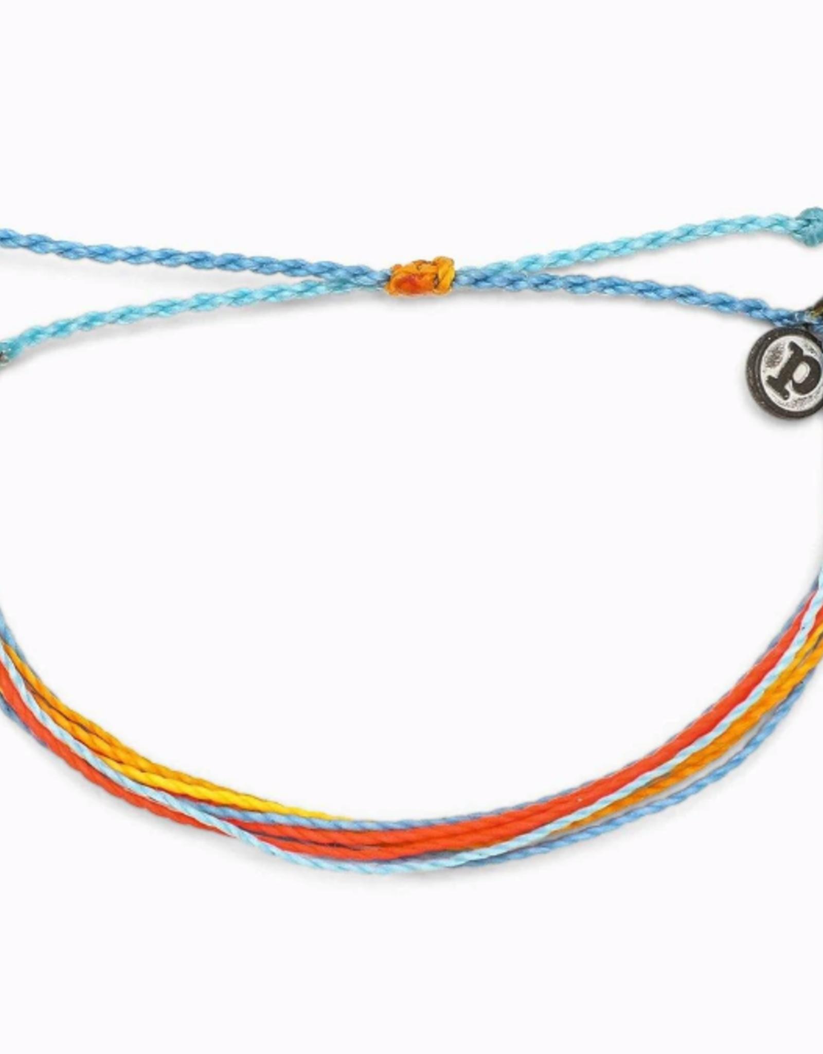 Puravida Puravida - Bright Original Citrus Surfline Bracelet
