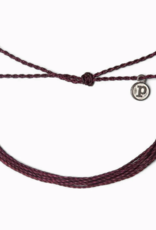 Pura Vida Pura Vida - Original Bracelet Solid Burgundy