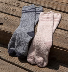 Barefoot Dreams Barefoot Dreams - Cozychic Youth Striped Socks