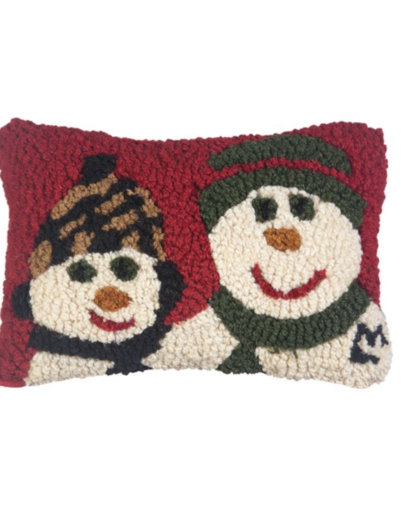"""Chandler 4 Corner - Day With Dad Snowman 8"""" x 12"""" Pillow"""