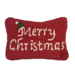 "Chandler 4 Corner - Merry Christmas  8"" x 12"" Pillow"