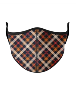 Top Trenz Top Trenz - Medium Mask - Thanksgiving Plaid