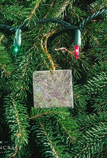 Screencraft Screencraft - Medfield Map Stone Ornament