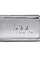 Mariposa Mariposa - Together Is Wonderful Signature Statement Tray