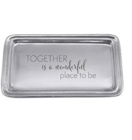 Mariposa Mariposa - Together Is Wonderful Signature Statement Tray