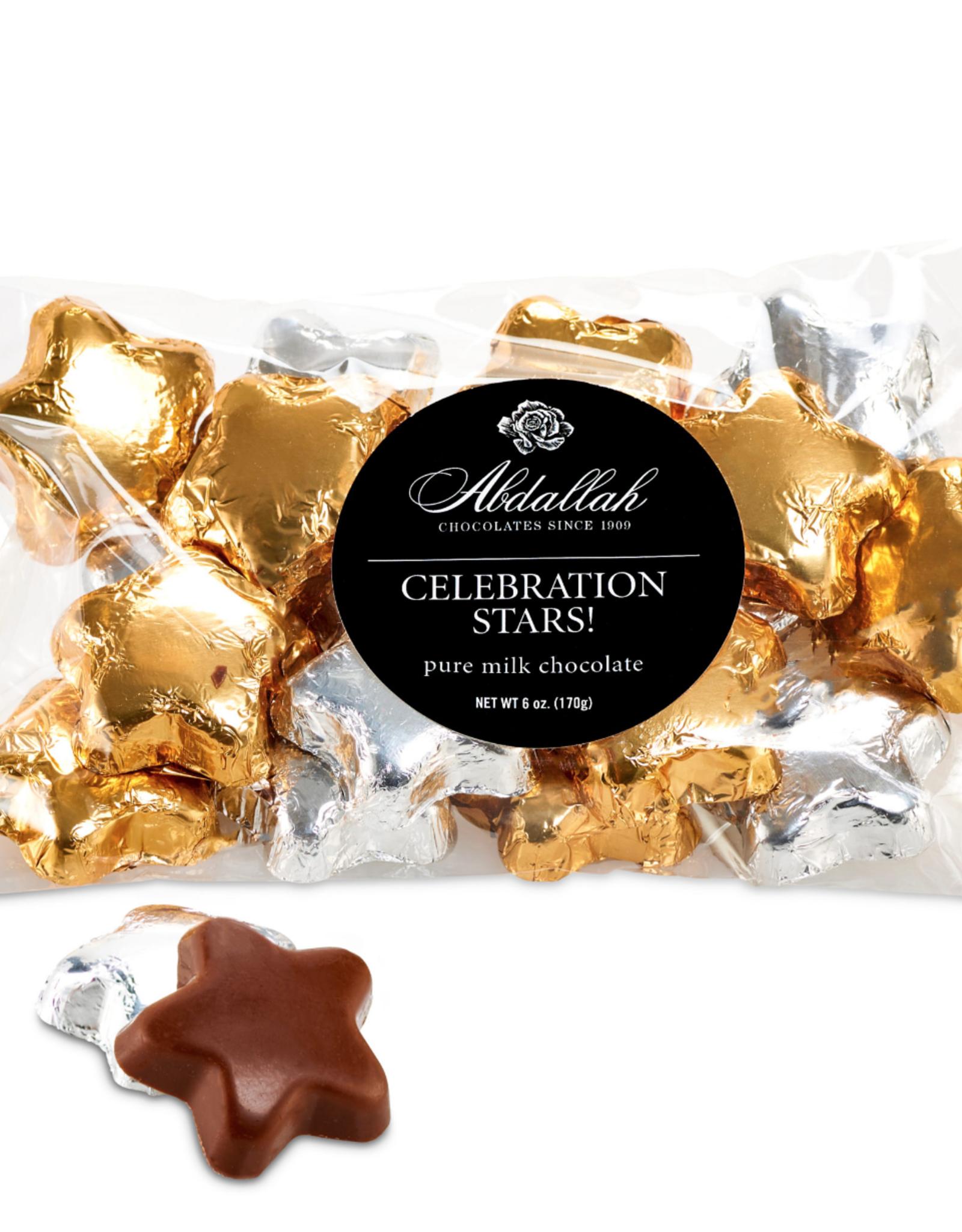 Abdallah Candies Abdallah - 6oz Bag  Milk Choc Celebration Stars