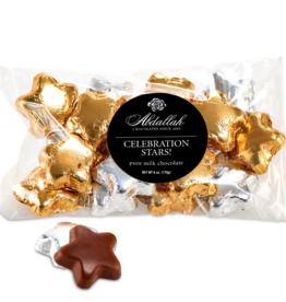 Abdallah Candies Abdallah - 6oz Bag  Milk Choc Celebration Stars