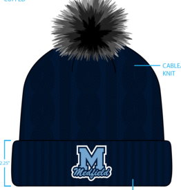 Pukka - Medfield Cable Faux Knit Pom
