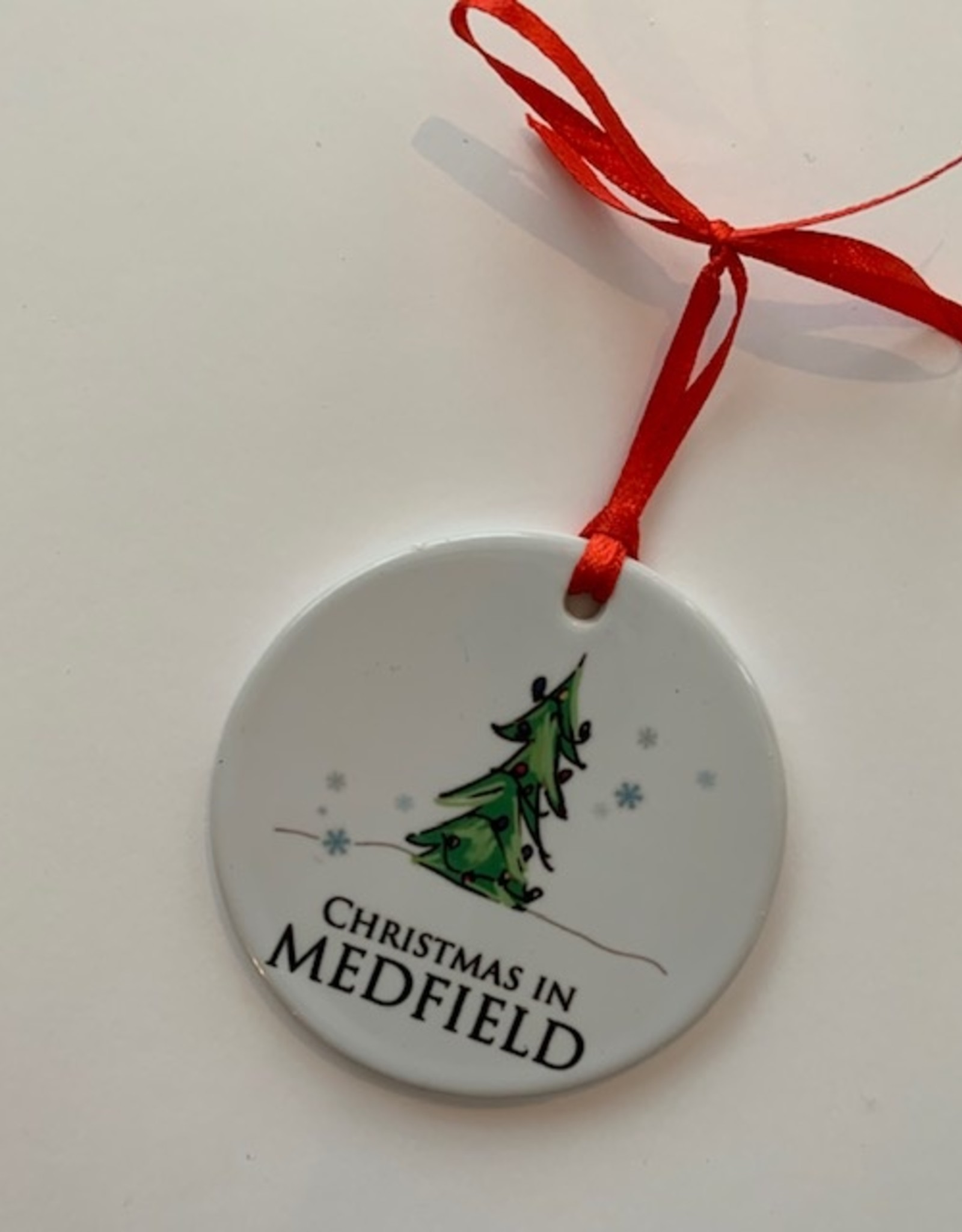 PhiloSophie's - Christmas in Medfield Tree Ornament