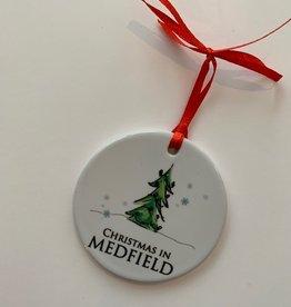 PhiloSophie's - Christmas in Medfield Tree Ornament