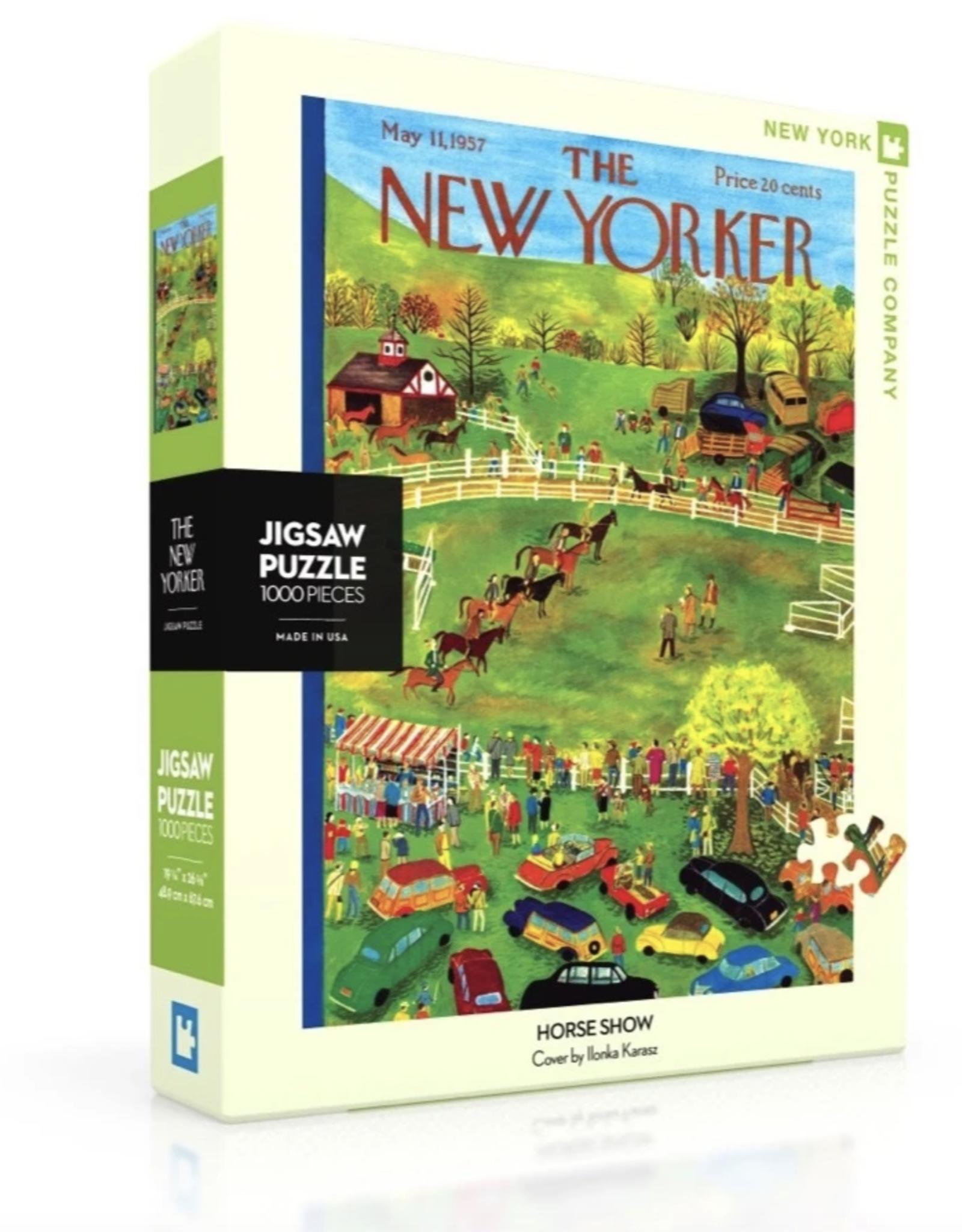 NY Puzzle NY Puzzle - Horse Show 1000pc Puzzle
