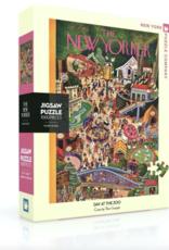 NY Puzzle NY Puzzle - Day at the Zoo 1000pc Puzzle