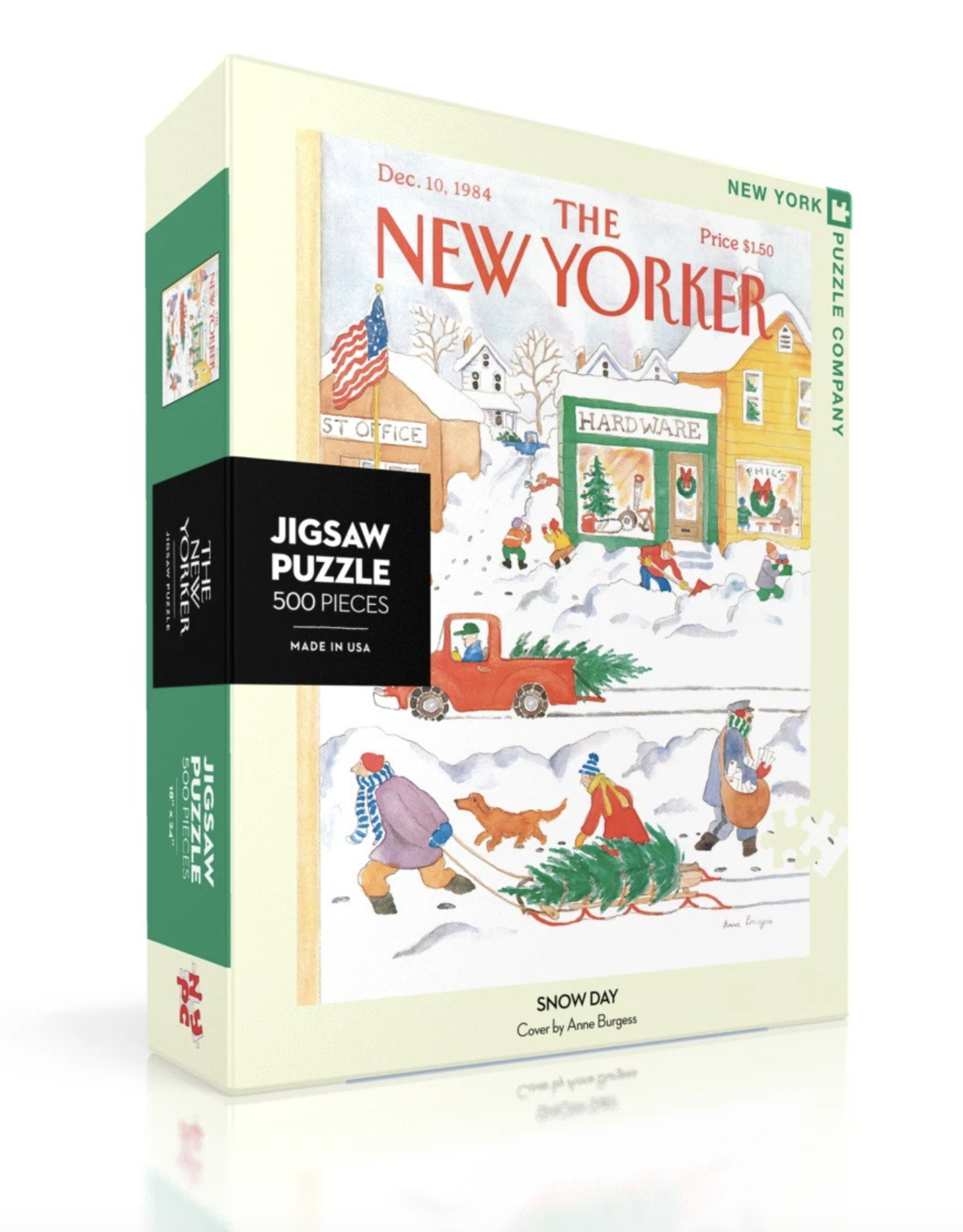 NY Puzzle NY Puzzle - Snow Day 500pc Puzzle