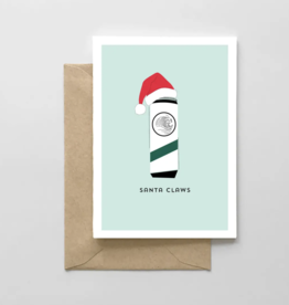 Spaghetti & Meatballs - Santa Claws Card