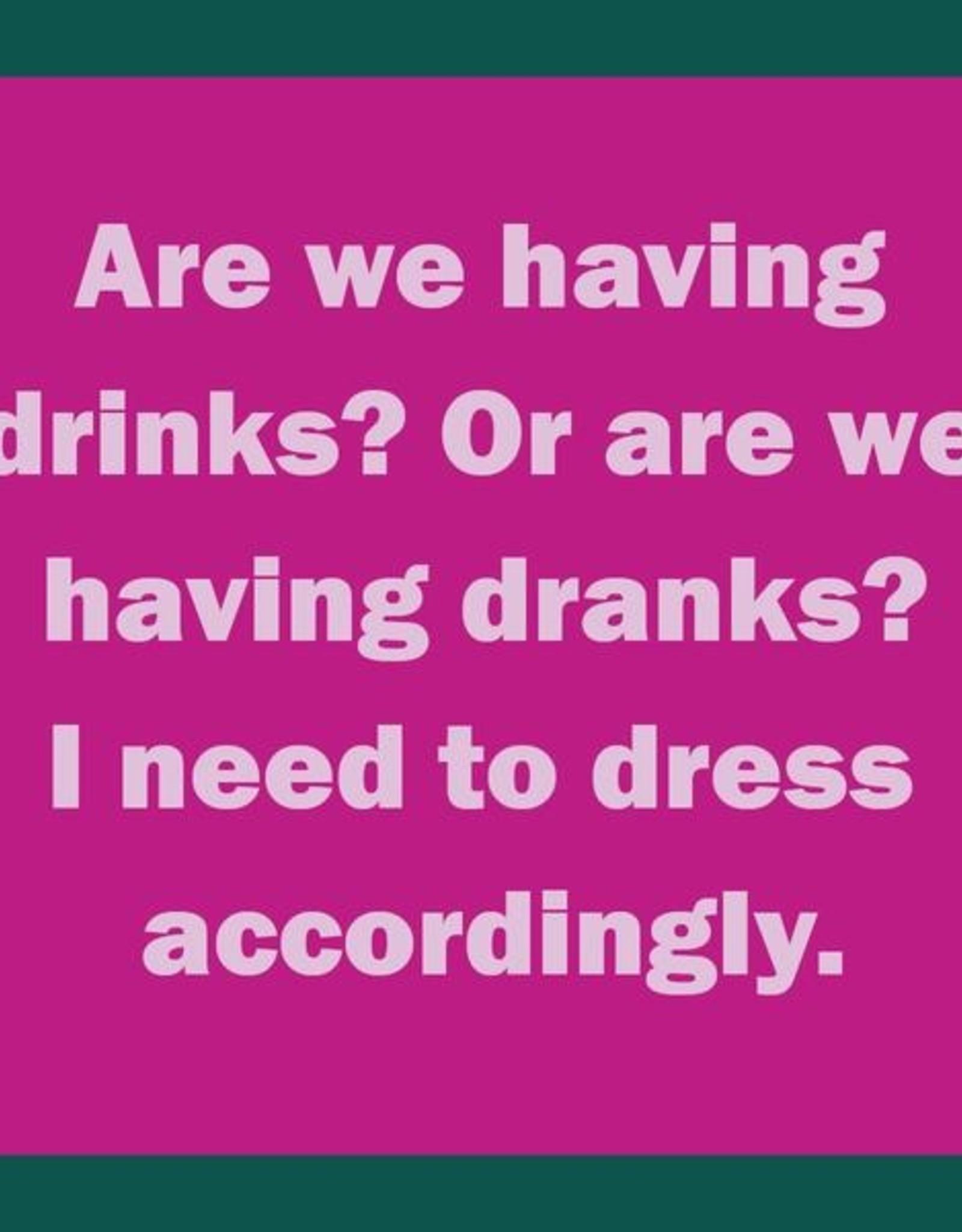 Drinks on Me Drinks on Me Coaster - Drinks Dranks