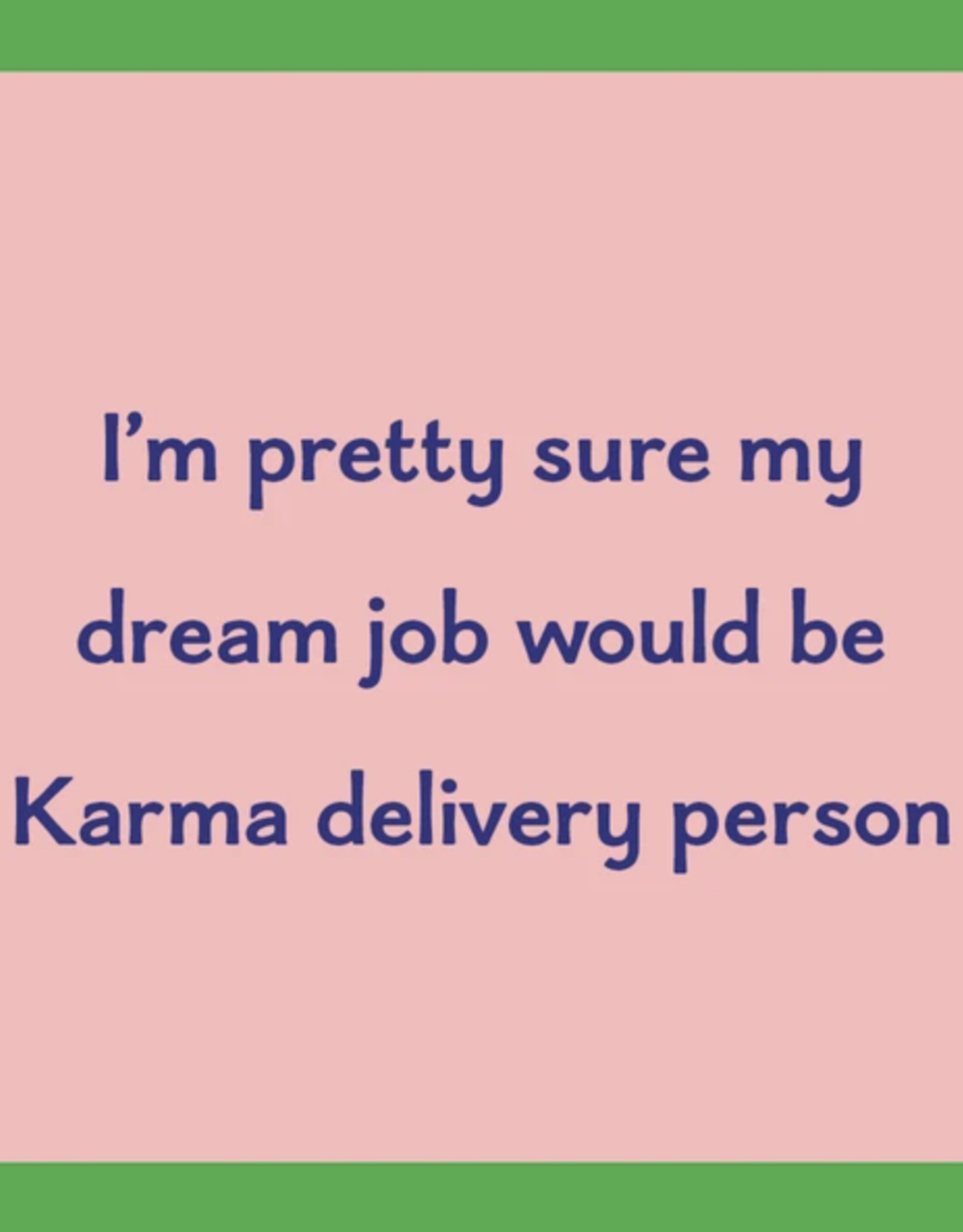 Drinks on Me Drinks on Me Coaster - Karma Delivery