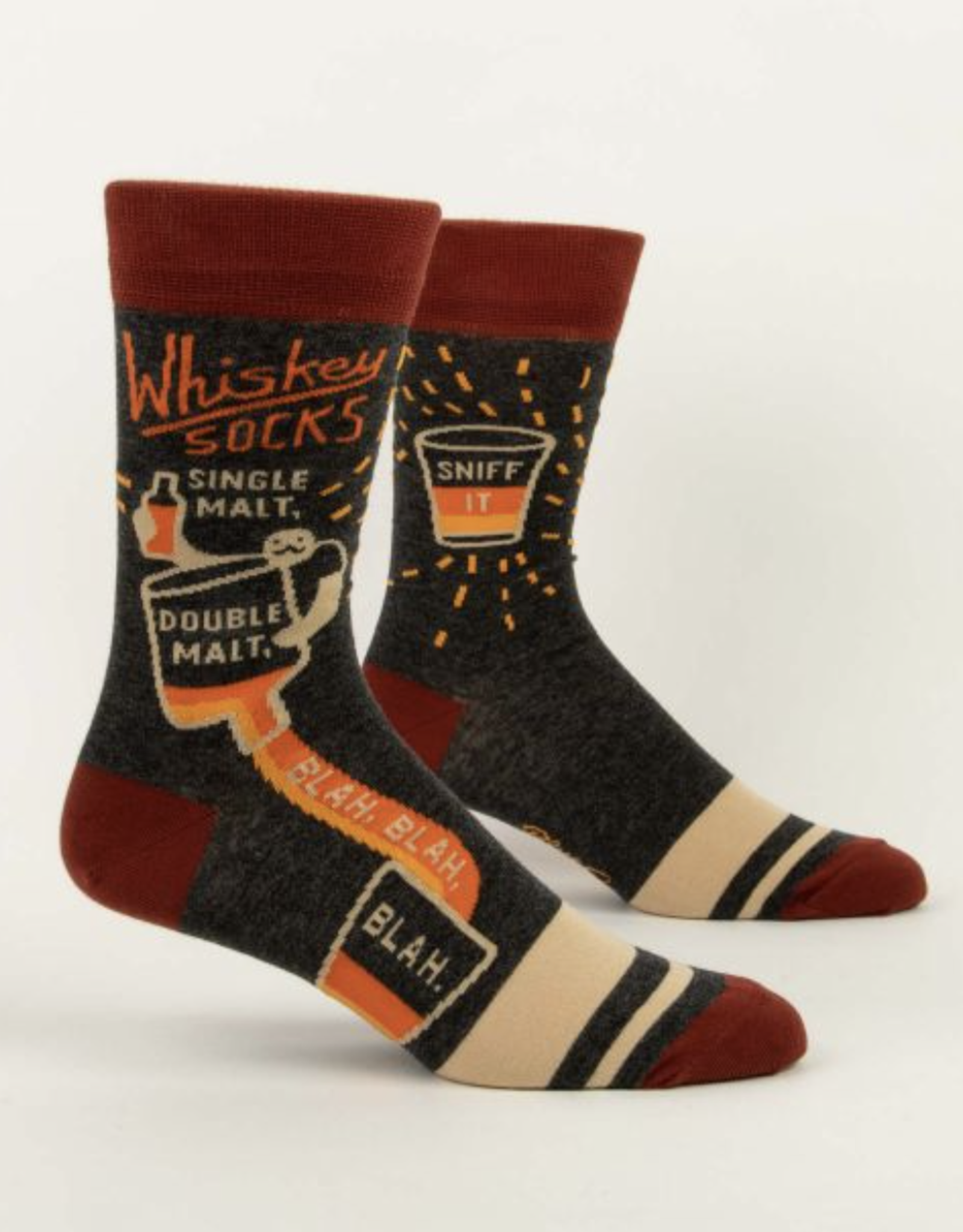 Blue Q Blue Q - Mens Socks Whisky