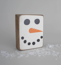 Rustic Marlin Rustic Marlin - Symbol Blocks Snowman Face