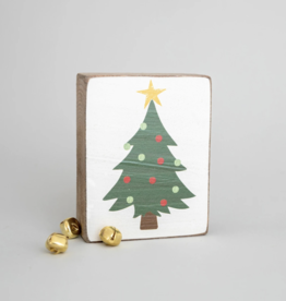 Rustic Marlin Rustic Marlin - Wood Block Christmas Tree