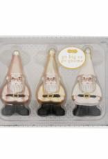 Mud Pie Mud Pie - Christmas Ornament Set - Gnomes