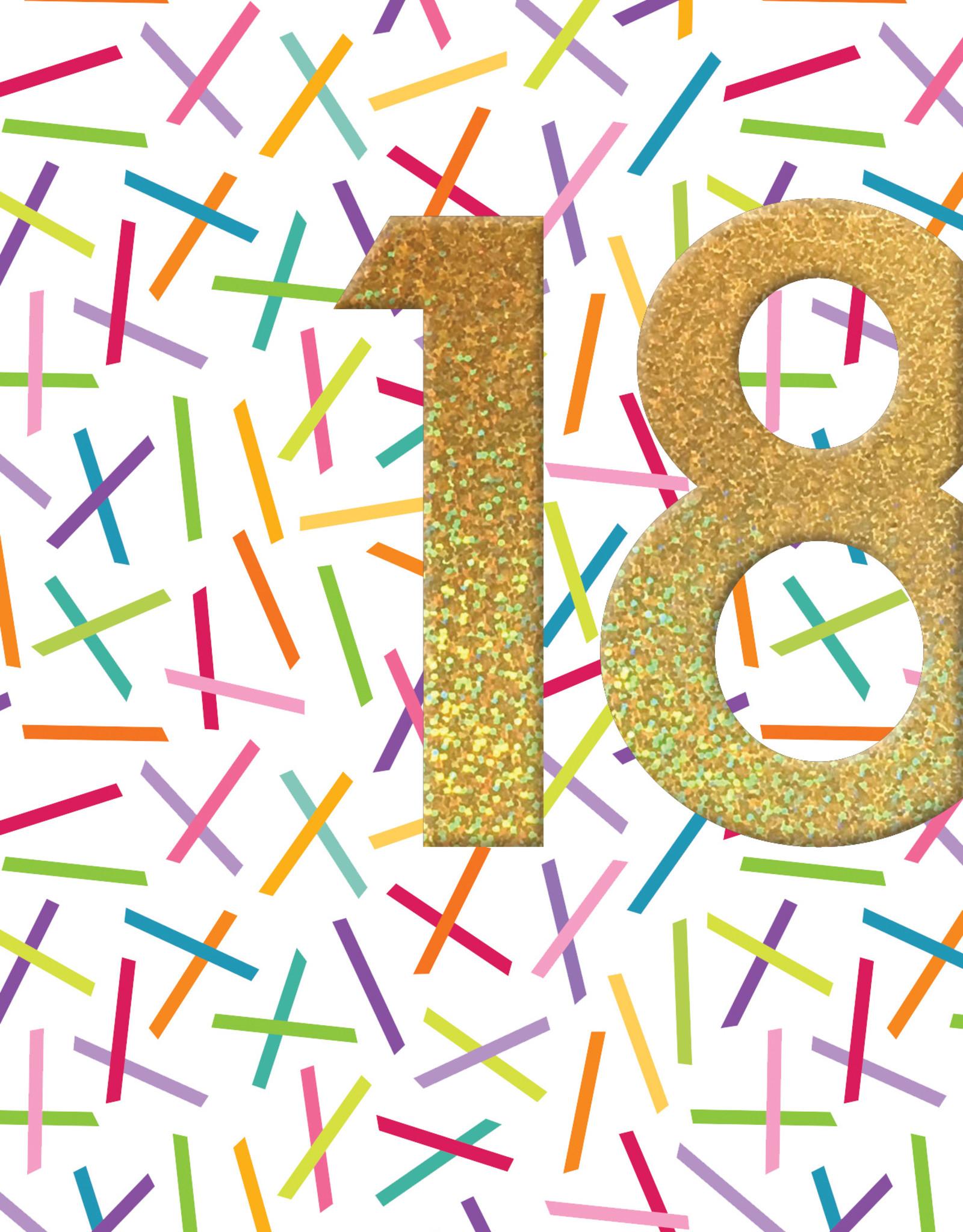 Pictura Pictura - 18th Birthday Card 60597