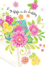 Pictura Pictura - Wife Birthday Card 60608