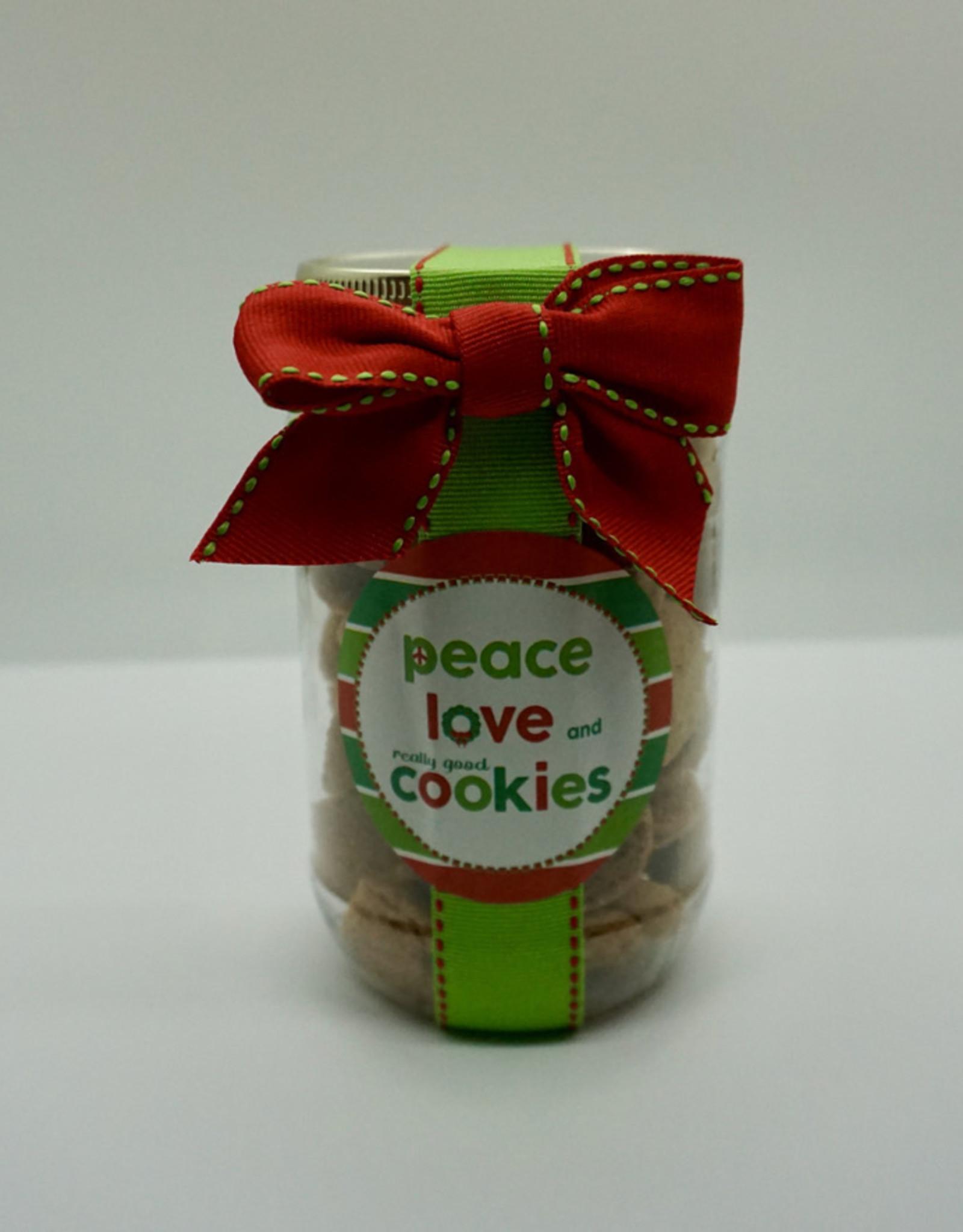 Oh Sugar! - 5oz Jar Choc Chip Cookies - Peace Love Cookies