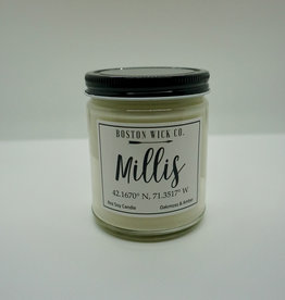 Boston Wick Boston Wick Company - Millis Lat Long Candle