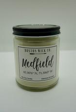 Boston Wick Boston Wick Company - Medfield Lat Long Candle
