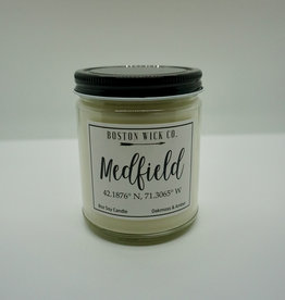 Boston Wick Boston Wick Company - Medfield Lat Long Candle