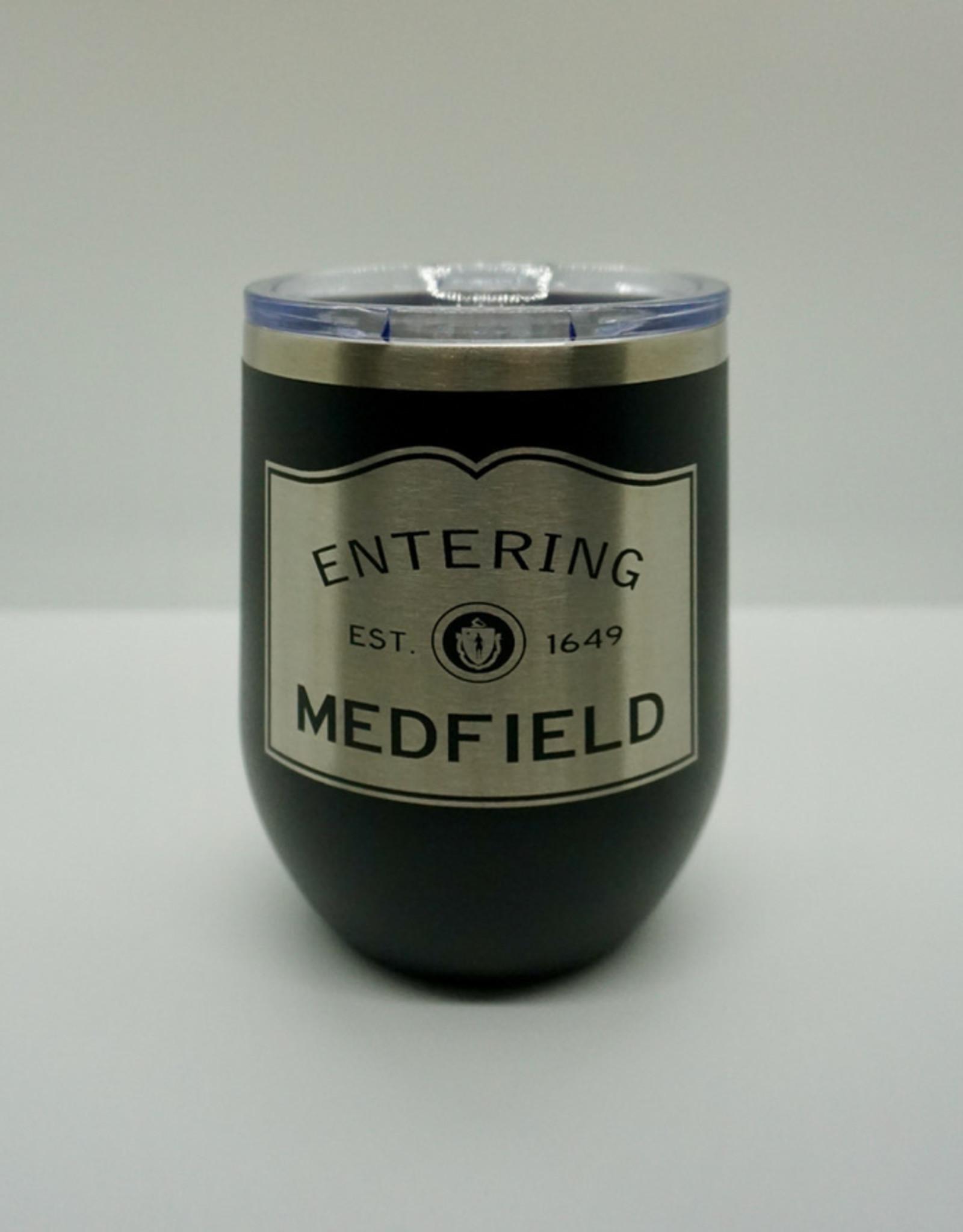 Insulated stemless, 12oz Enter Medfield