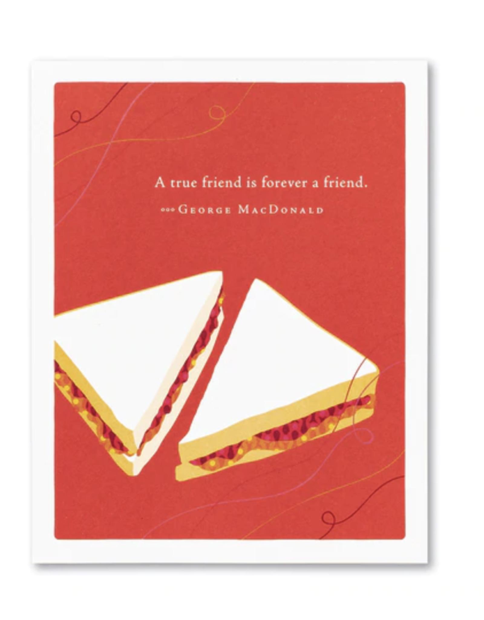 Compendium - Greeting Cards Compendium - Friendship Card - 8159