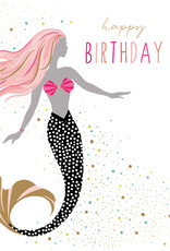 Pictura Pictura - Mermaid Happy Birthday Card 61049