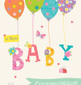 Pictura Pictura - New Baby Card 60979