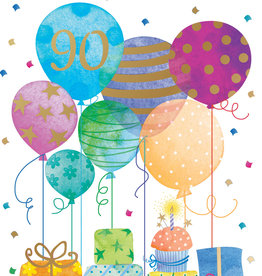 Pictura Pictura - 90th Birthday Card 60949