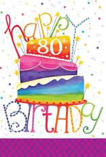 Pictura Pictura - 80th Birthday Card 60947