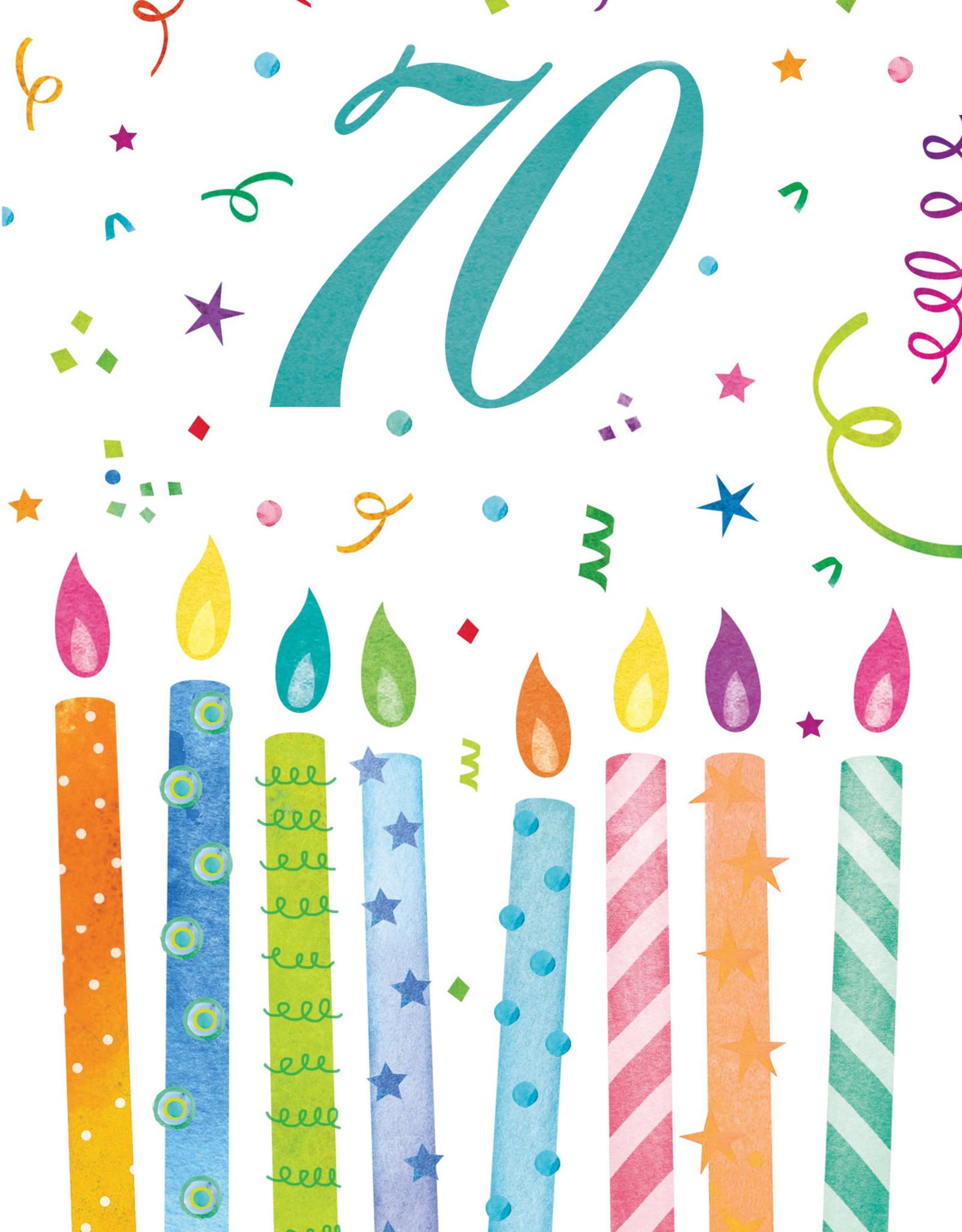 Pictura Pictura - 70th Birthday Card 60945