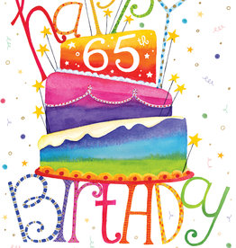 Pictura Pictura - 65th Birthday Card 60943