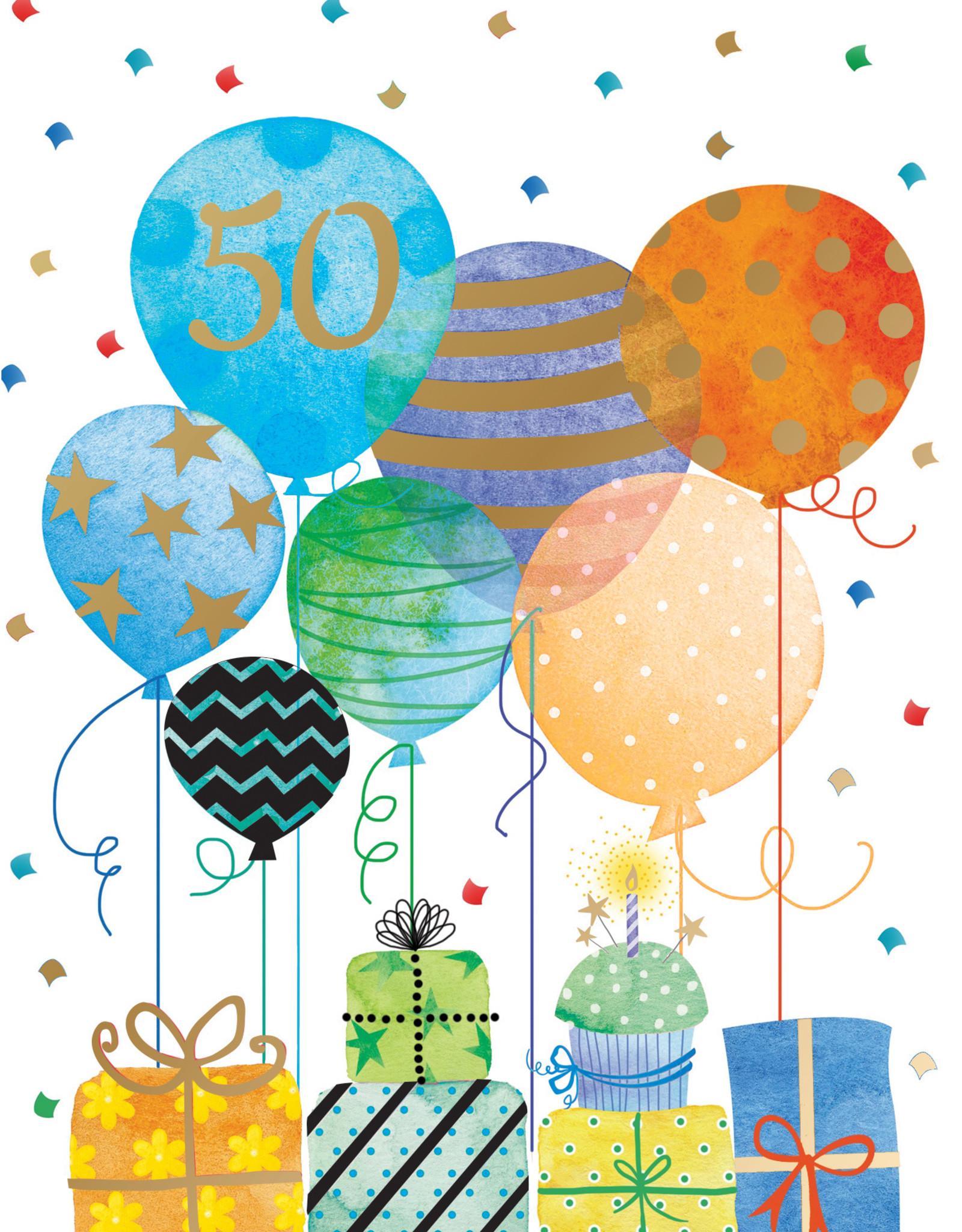 Pictura Pictura - 50th Birthday Card 60940