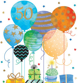 Pictura Pictura - 50th Birthday Card 60940