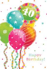 Pictura Pictura - 40th Birthday Card 60938