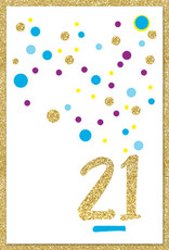 Pictura Pictura - 21st Birthday Card