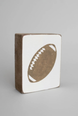 Rustic Marlin Rustic Marlin - Wood Block Football