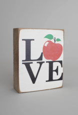 Rustic Marlin Rustic Marlin - Symbol Blocks Love Apple