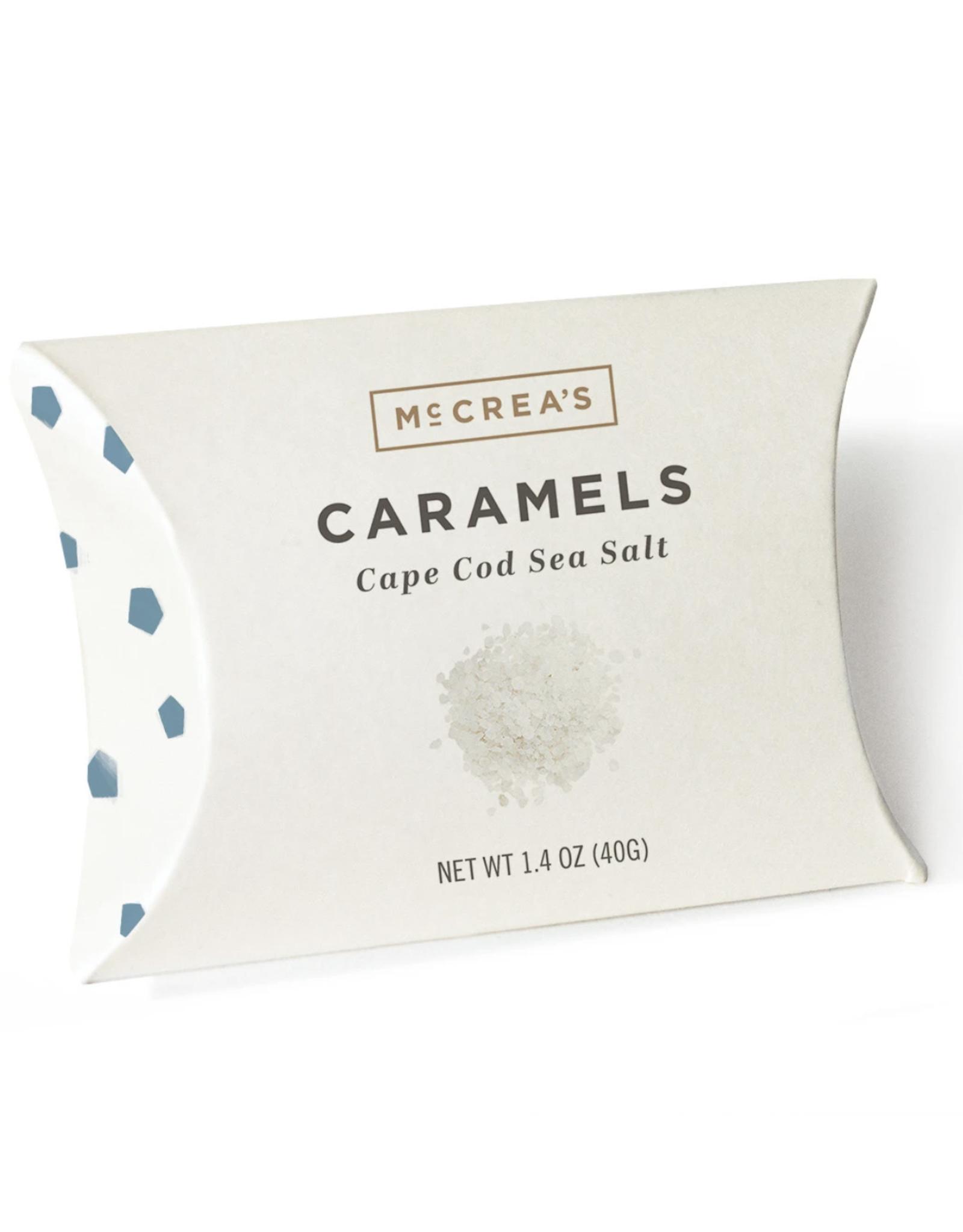 McCrea's Candies 1.4oz Pillows Cape Cod Sea Salt