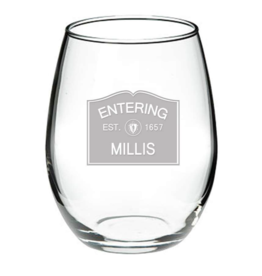 Millis Glassware - Entering Millis EST. 1657 Stemless