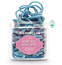 Candy Club Candy Club - Berry Blue Sour Laces