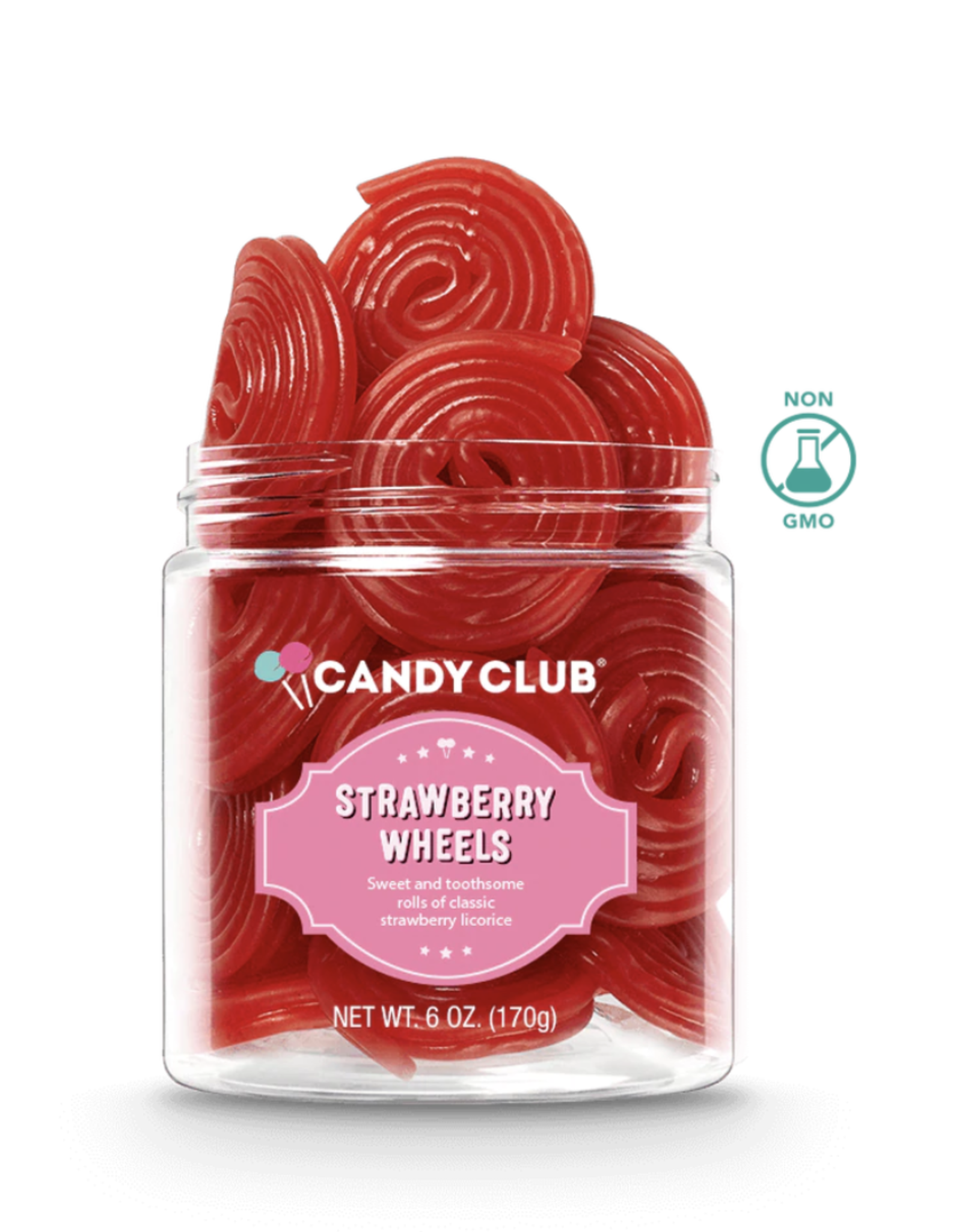 Candy Club Candy Club - Strawberry Wheels